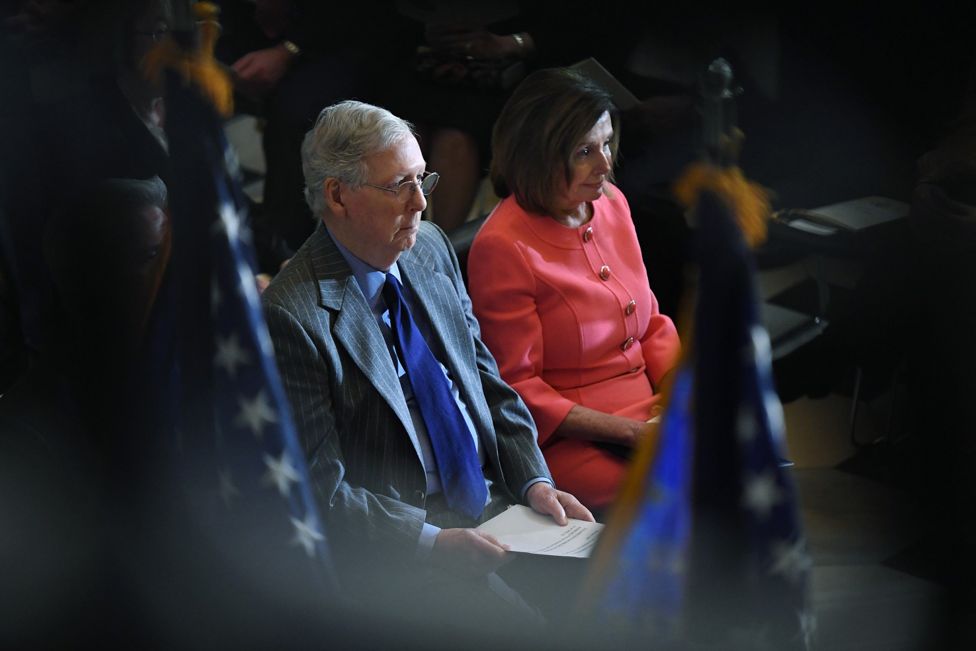 Democrats Accuse Republicans of 'Bad Faith' As They Invoke National Debt to Pause Pandemic Aid 200513-mcconnell-pelosi-al-1225_ee9a786ca4645bc8b39b5491a4c528f4.fit-2000w