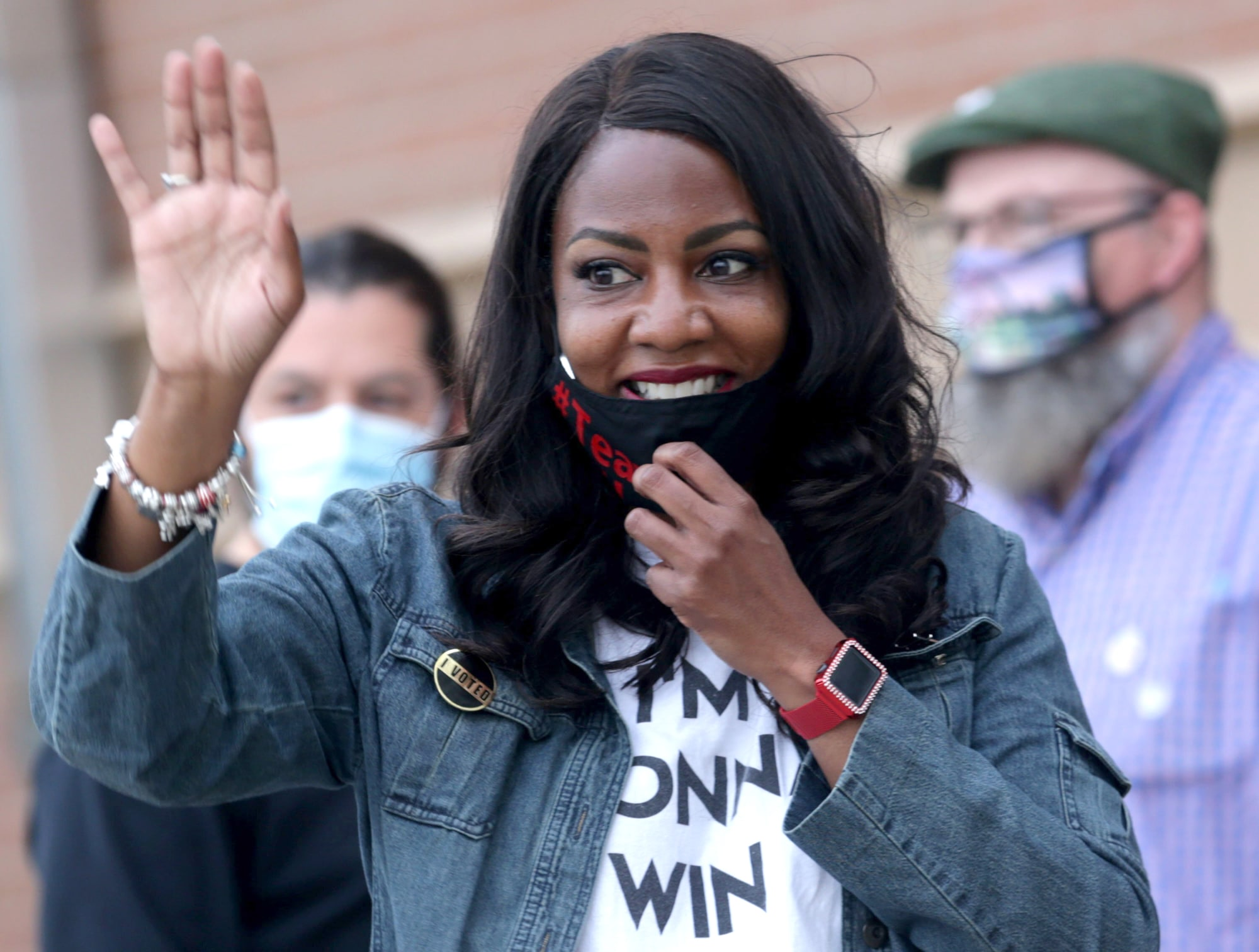 """St. Louis, MissouriST. LOUIS — St. Louis Treasurer Tishaura Jones, who has been outspoken in her criticism of the criminal justice system's """"arrest and incarcerate"""" model, won election Tuesday and will take over as the first Black female mayor in a city beset by yet another wave of violent crime.  Jones defeated Alderwoman Cara Spencer in the general election with 51.7 percent to Spencer's 47.8 percent, based on unofficial results posted on the city's website. She will be sworn in April 20.  """"St. Louis: This is an opportunity for us to rise,"""" Jones said in her victory speech. """"I told you when I was running that we aren't done avoiding tough conversations. We are done ignoring the racism that has held our city and our region back."""" elects first Black female mayor"""