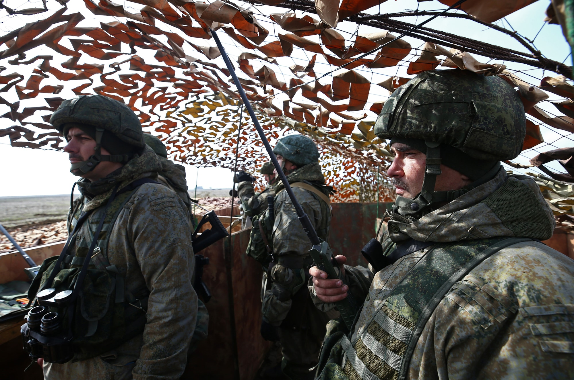 NBC NEWS – Steady increase in Russian troops in Crimea on Ukraine border, Pentagon says