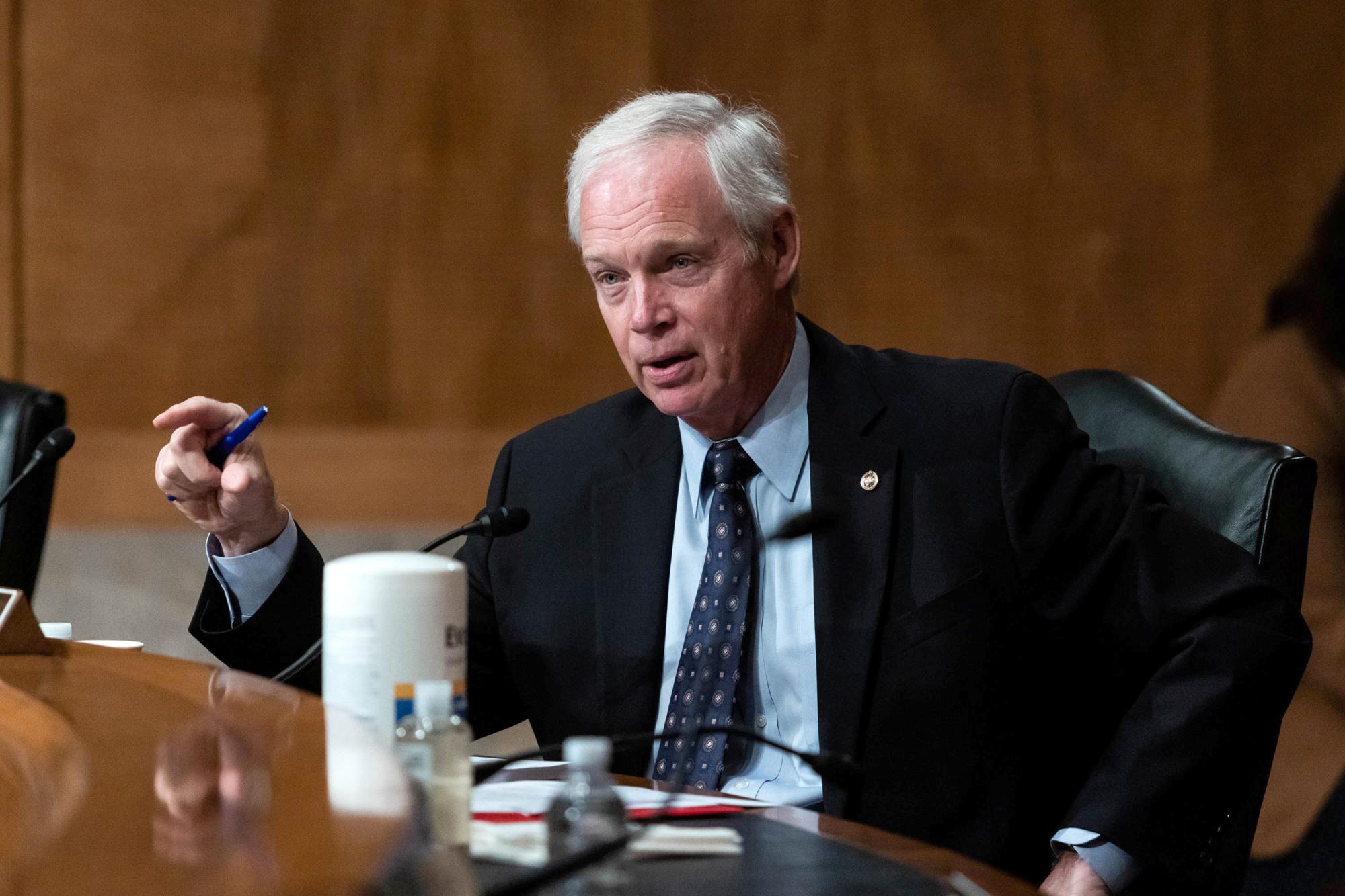 YouTube Suspends GOP Sen. Ron Johnson's Account for a Week Over Video Violating Coronavirus Misinformation Policies