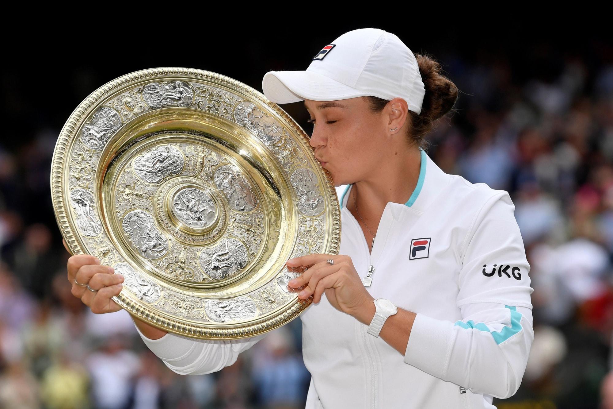Ashleigh Barty Defeats Karolina Pliskova to Win First Wimbledon Title
