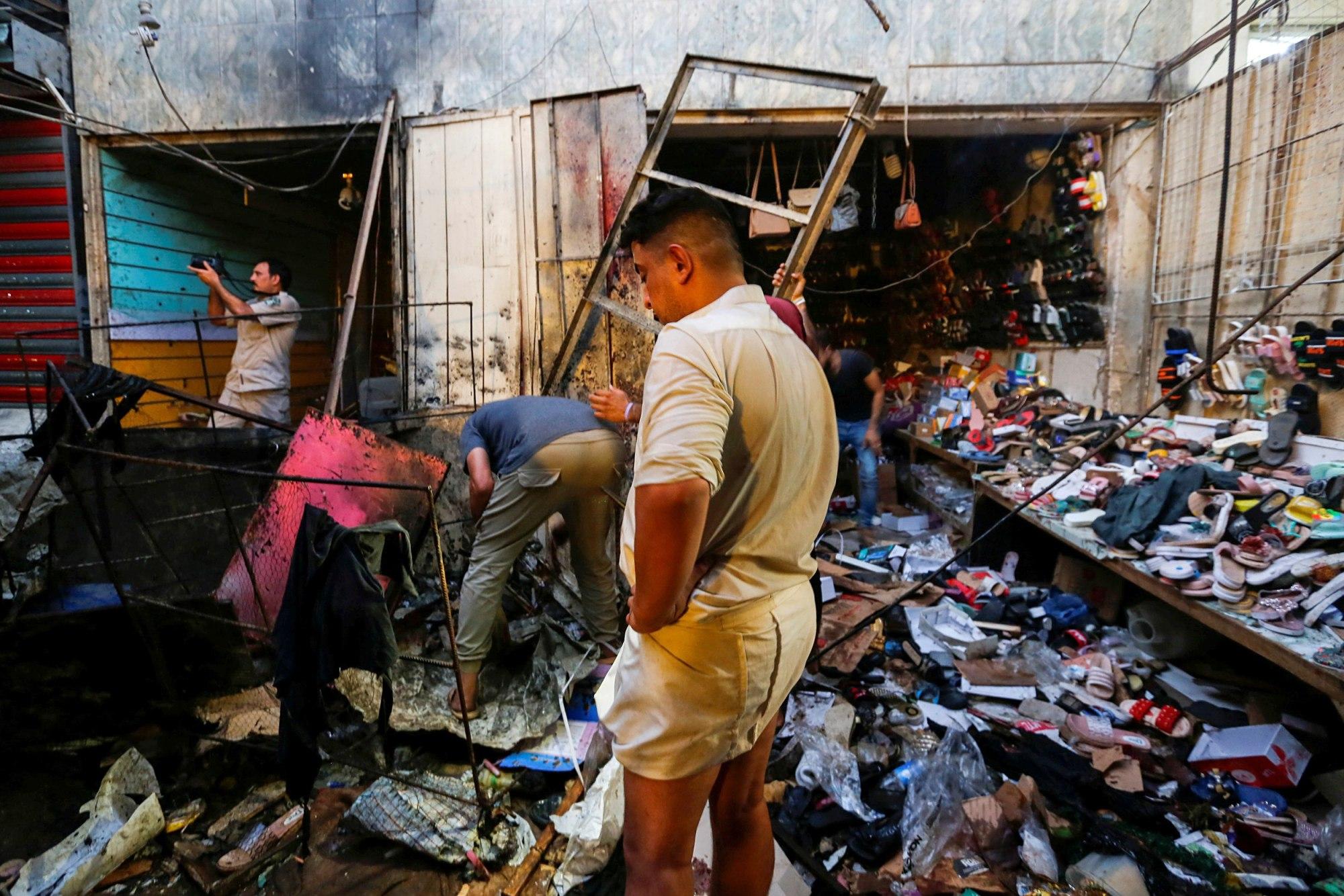 25 People Killed in Roadside Bomb Attack at Baghdad Market