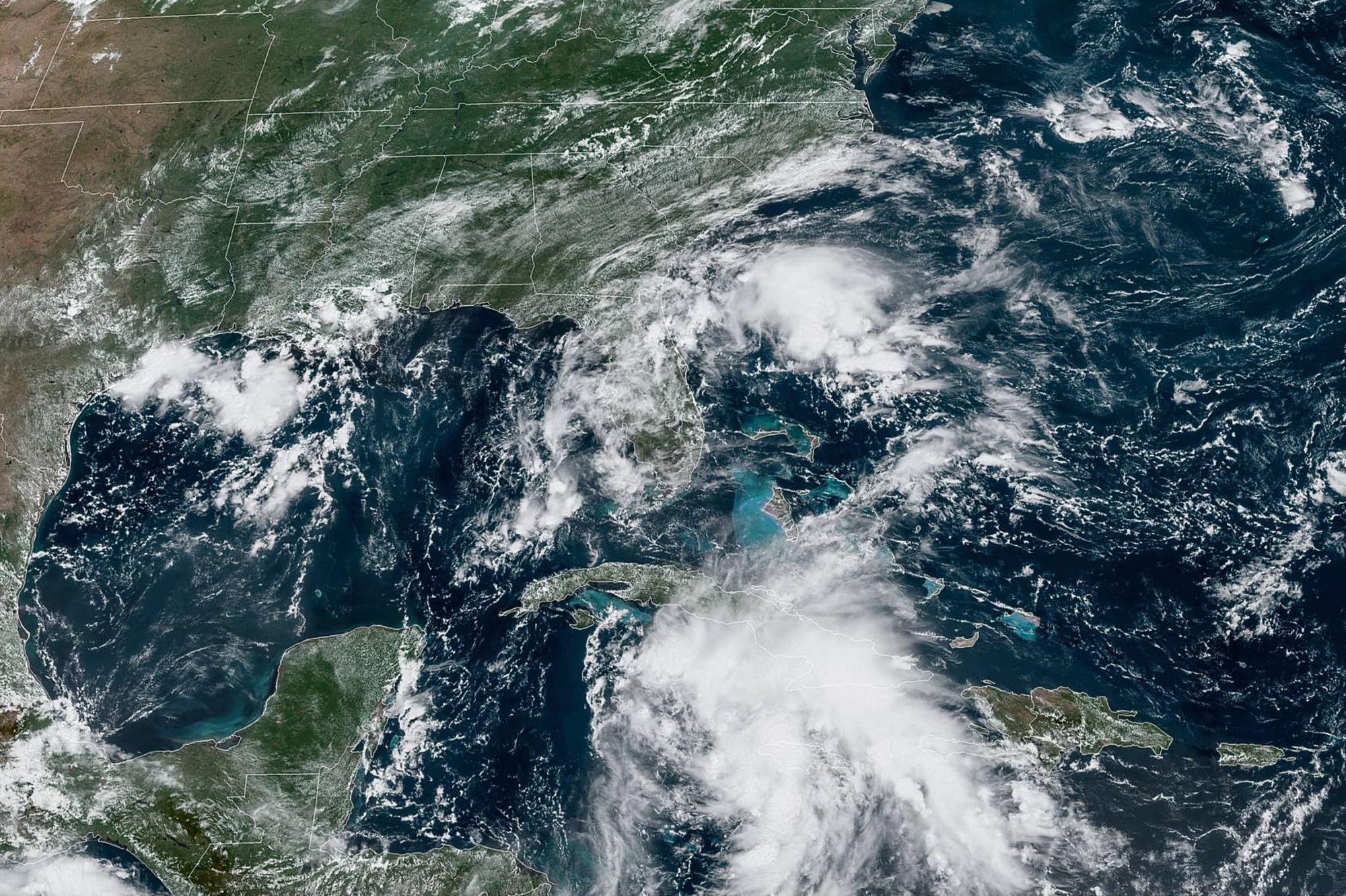 Tropical Depression Could Become Hurricane Before Making Landfall on Gulf Coast