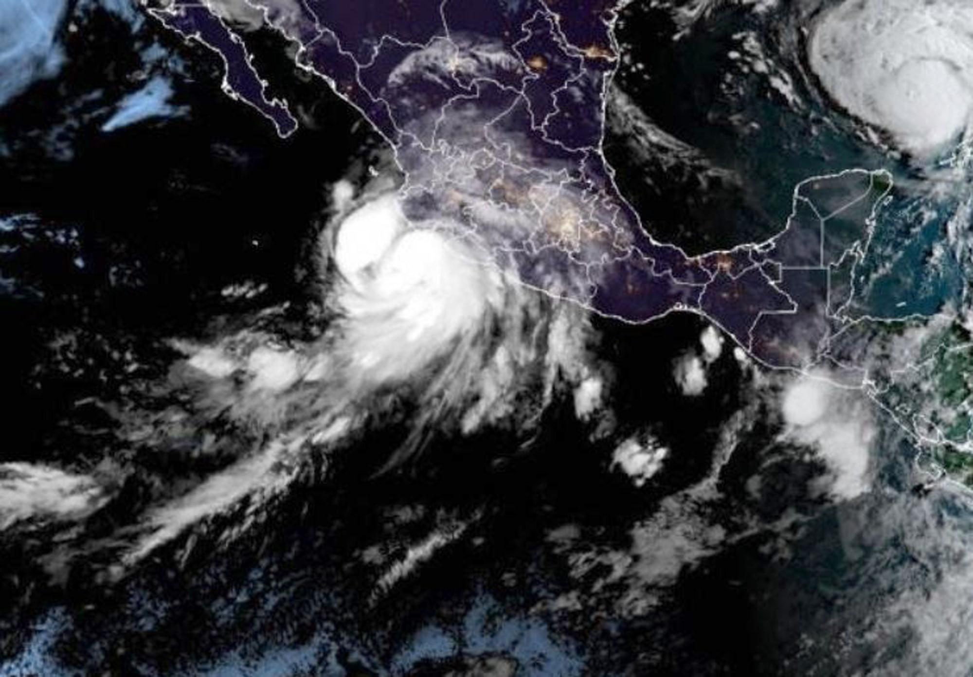 Hurricane Nora Forms Along Mexico's Pacific Coastline
