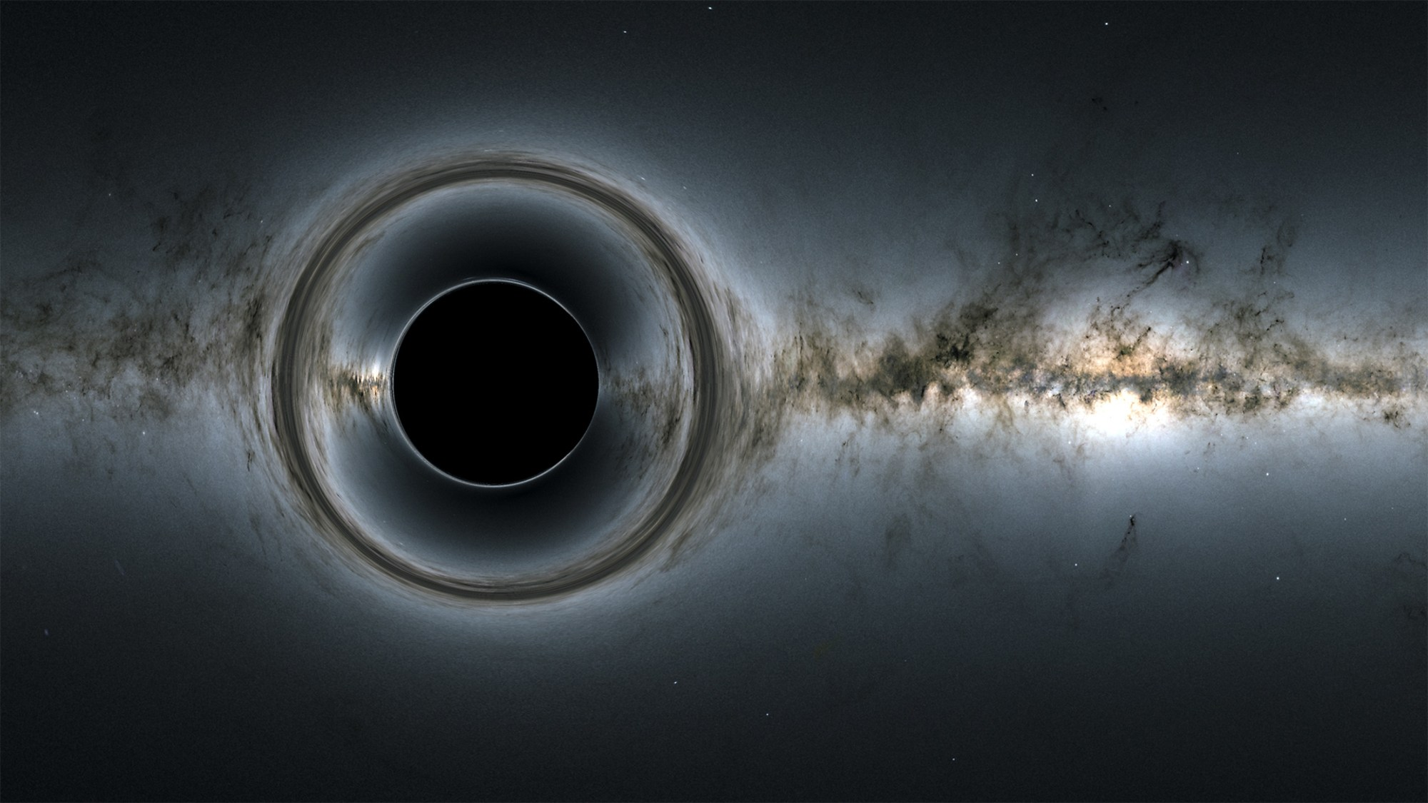 Researchers See Light from Behind Black Hole for the First Time, Proving Einstein Right Again