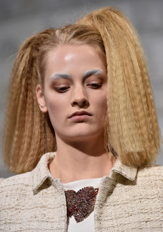 Crimped Hair Is Making A Comeback See The Look Then And Now