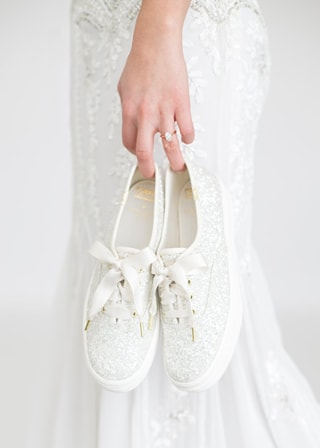 Keds and Kate Spade created a sneakers wedding collection