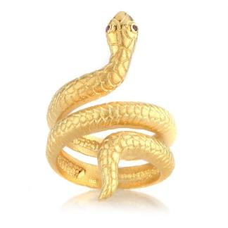 T Swift Snake Ring