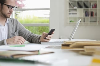 working from home socializing via chat or text messaging can keep loneliness at bay getty images - Working In Home Office
