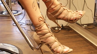 How about an edgy, trendy 'do to match those shoes?