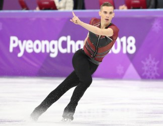 single men in rippon Rippon skated a near-flawless routine  adam rippon reacts after finishing his routine in the figure skating team event men's single skating free skating at the.