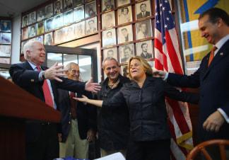 Image: McCain greets Ros-Lehtinen