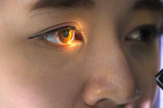 Image: Eye scan