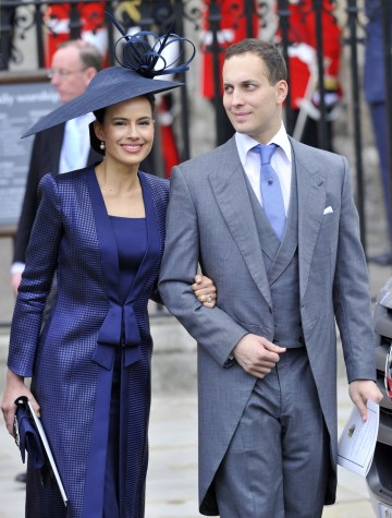 Lord Frederick And Lady Sophie Windsor Leave After The Wedding Ceremony Of Prince William Kate Middleton At Westminster Abbey In Central London