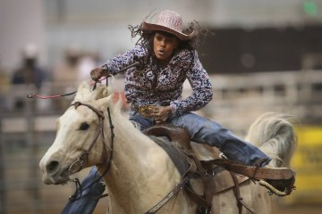 Cowboys And Cowgirls Compete In The Country S Only Touring