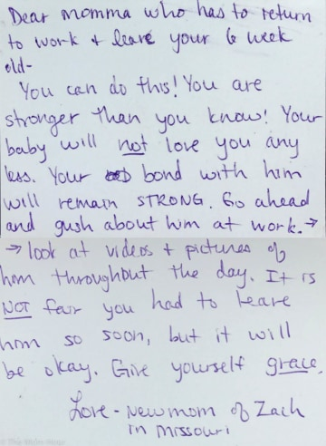 These handwritten Mother s Day letters prove moms have each