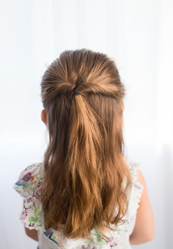 Strange Easy Hairstyles For Girls That You Can Create In Minutes Natural Hairstyles Runnerswayorg