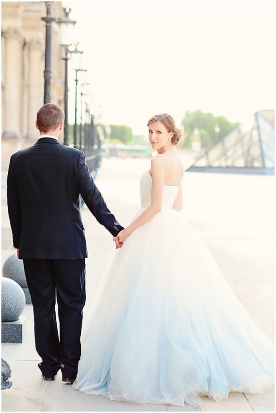 Dip Dyed Colorful Wedding Dresses Are The New Bridal Trend,Fall Dresses To Wear To A Wedding As A Guest