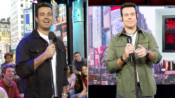 Carson Daly Revives Signature Trl Look For Nsync Walk Of Fame