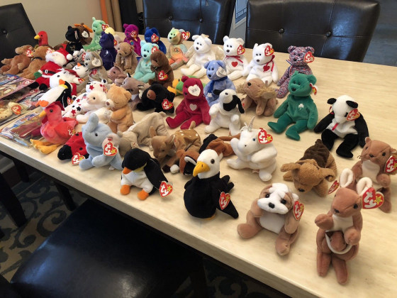 Is Your Beanie Baby Collection Actually Worth A Lot Of Money Now