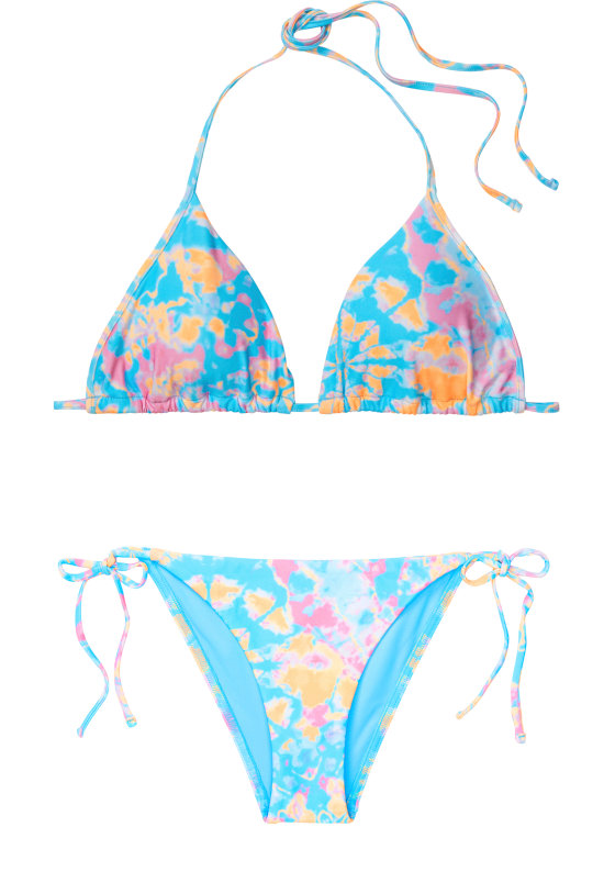 The top of this bikini retails for $42, while the matching bottom costs $32. Both are available in sizes XS to L.