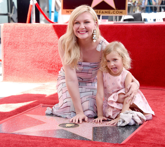 Kirsten Dunst S Son Makes Rare Appearance At Hollywood Walk Of Fame Ceremony