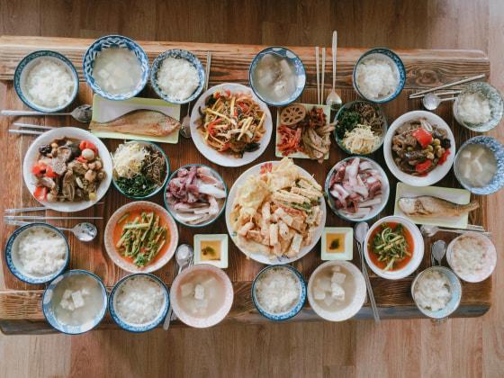 south korean staple diet