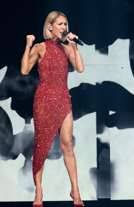 Celine Dion S Hair Is Cut Into A Bob On Courage World Tour