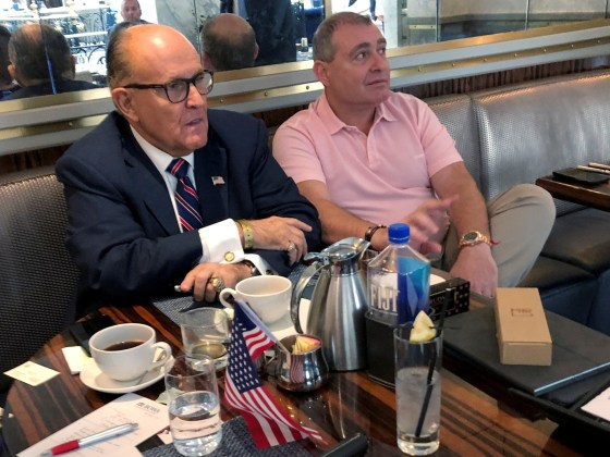 Guiliani associates arrested at airport