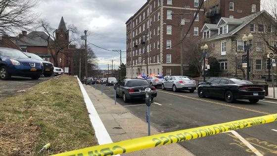 IMAGE: Bridgeport, Connecticut, shooting scene