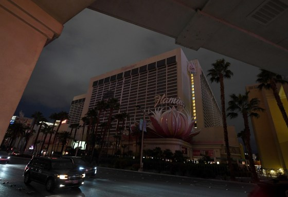 Las Vegas Neon Lights Go Dark As Coronavirus Outbreak Leaves Thousands Unemployed