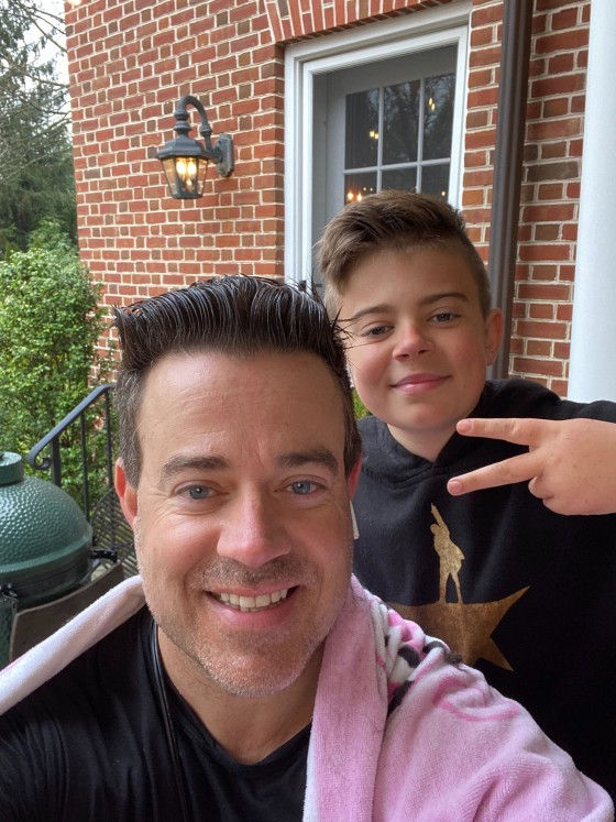 Carson Daly Gave Himself A Haircut Live On Today Show