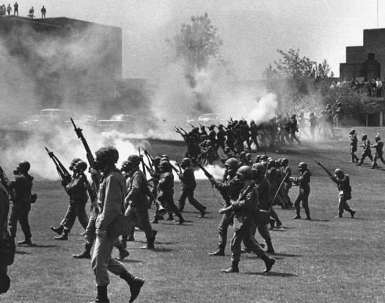 IMAGE: Riots at Kent State University