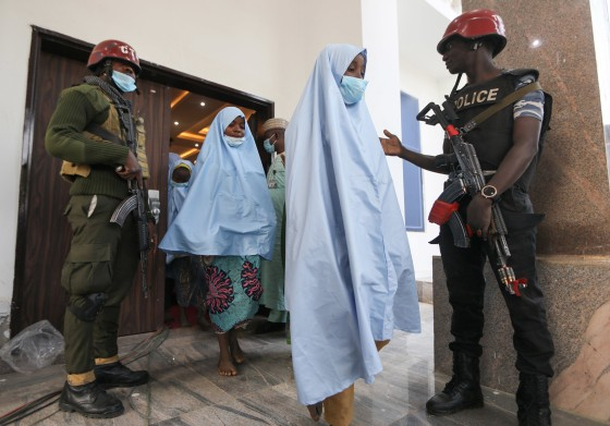 Nigerian Governor Says 279 Abducted Schoolgirls Last Week a Freed