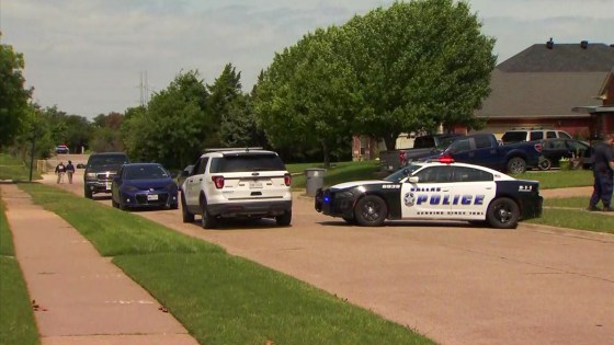 There's a devil loose: Little child is found dead in middle of the 7500 block of Saddleridge Drive in Dallas, Texas; Investigation underway