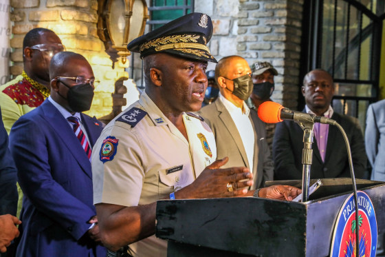 Haiti police arrest third suspect with U.S. ties in president's assassination,HARBOUCHA NEWS