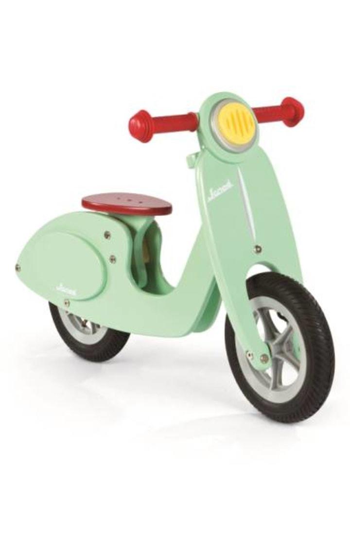 Janod Scooter Mint Balance Bike Ride On