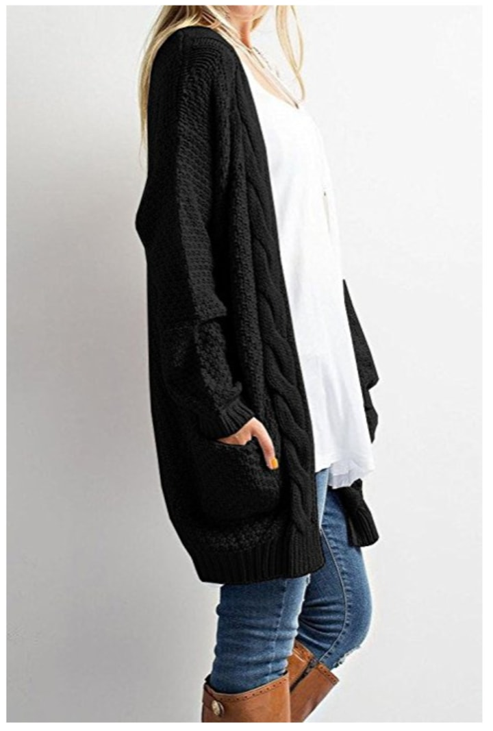 d863592c56 This is the best long cardigan sweater for women