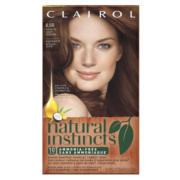 Natural Instincts Hair Color Orangey