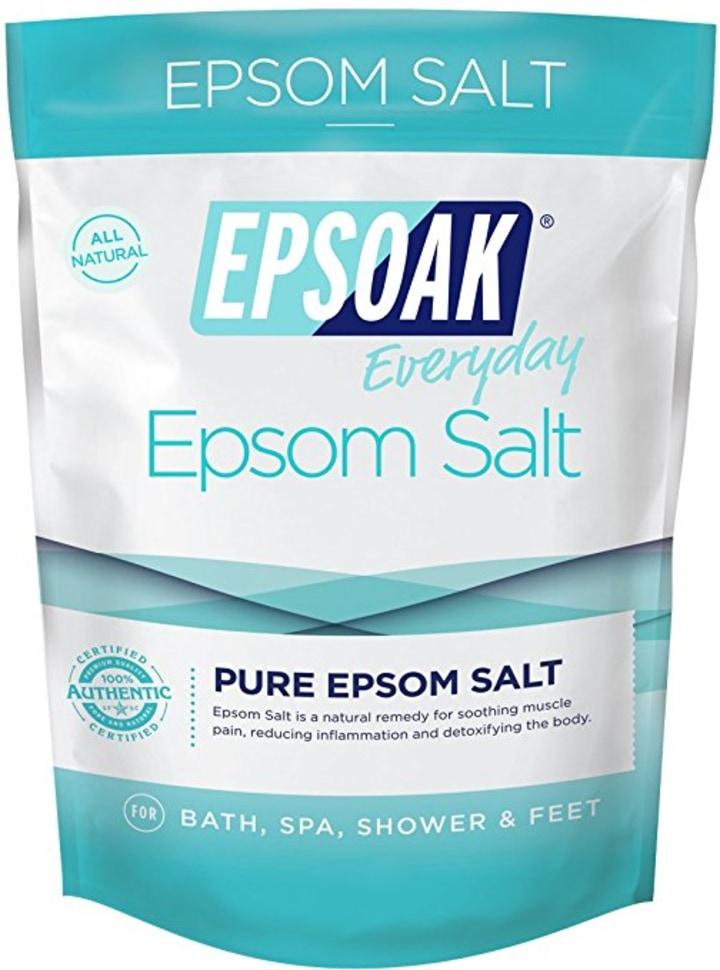Gwyneth Paltrow digs this drugstore epsom salt bath soak