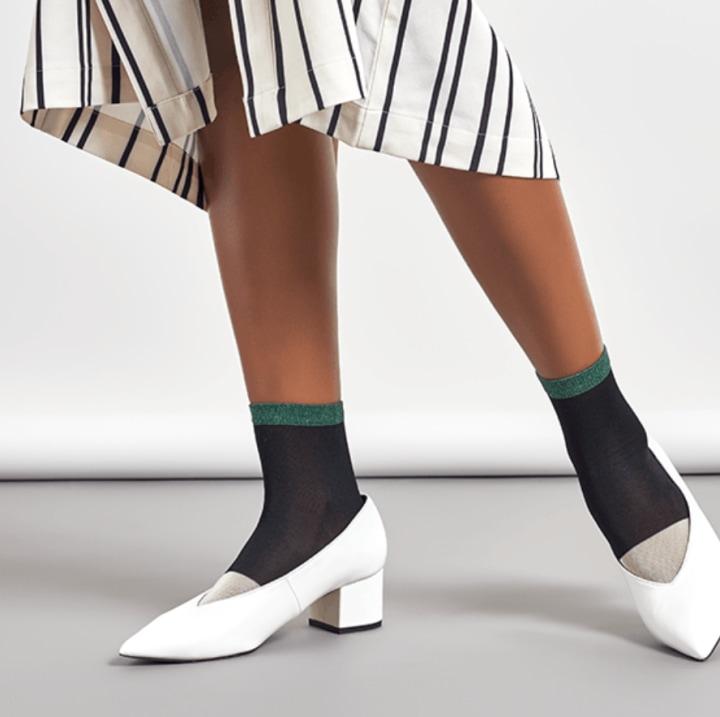 Liza Sparkle Ankle Socks