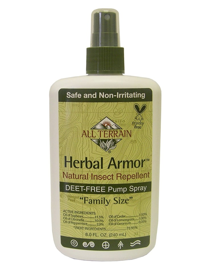 All Terrain Herbal Armor DEET-Free Natural Insect Repellent Spray
