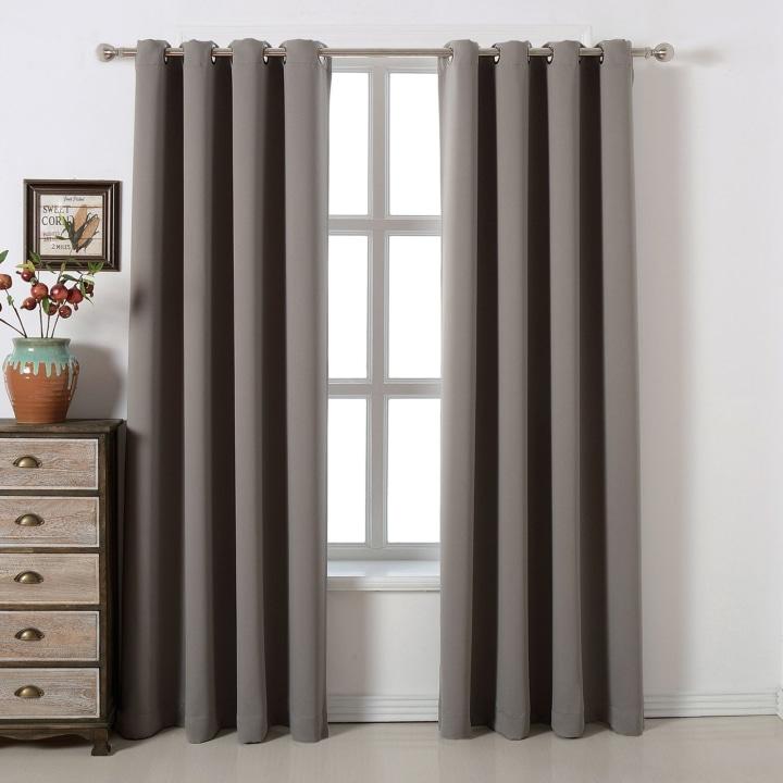 Acelitor Blackout Curtains Set