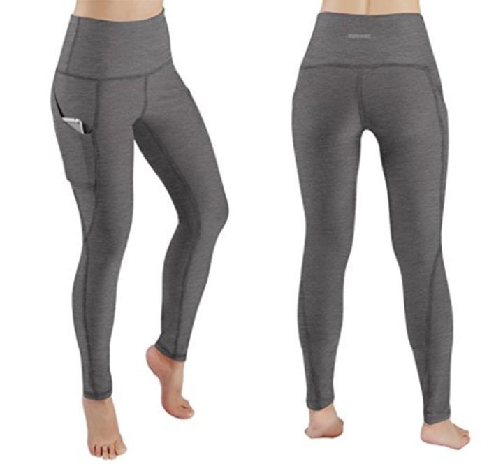 27a69d4a34c25 Ododos High Waist Out Pocket Yoga Leggings