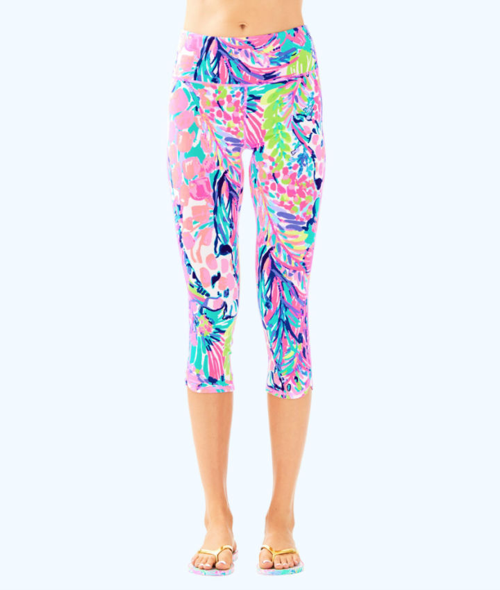 2a7fbb27580164 High Rise Weekender Cropped Pant in Multi Gumbo Limbo · $108. Lilly Pulitzer