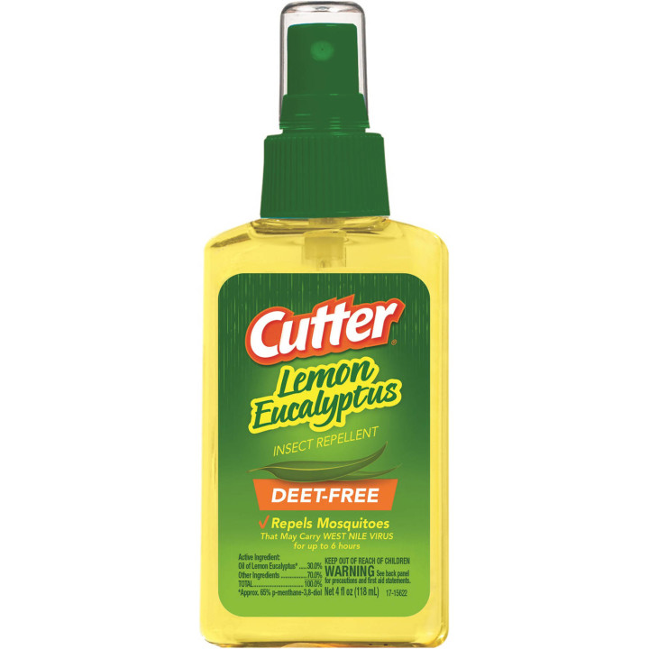Cutter Lemon Eucalyptus Insect Repellent