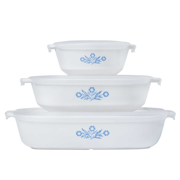 CorningWare Dishes In 'cornflower Blue' Are Back In Stock Beauteous Corningware Dishes Patterns