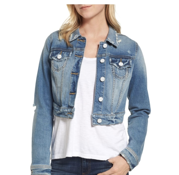 d94c15a83d These are the best jean jackets for fall 2018