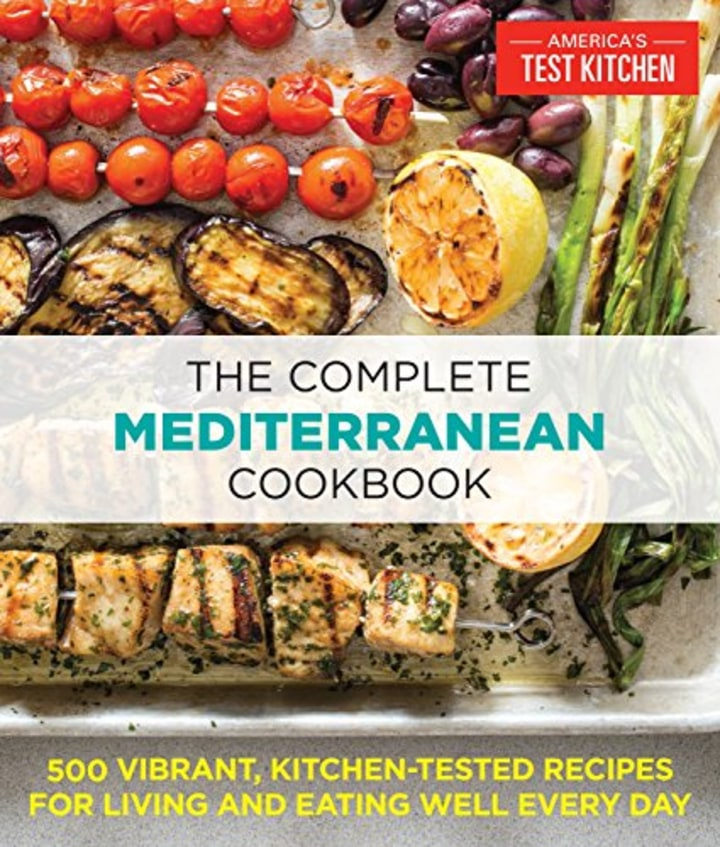 13 delicious and healthy cookbooks we cant cook without the complete mediterranean cookbook by americas test kitchen forumfinder Gallery