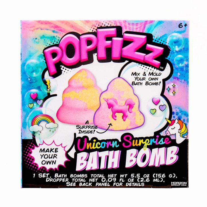 Pop Fizz Make Your Own Unicorn Surprise Bath Bomb